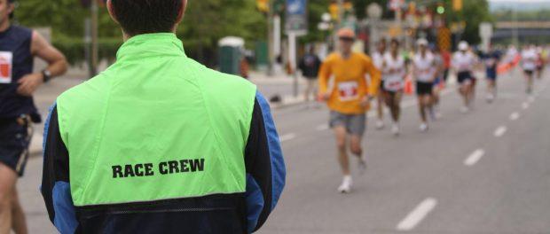 sports event volunteer