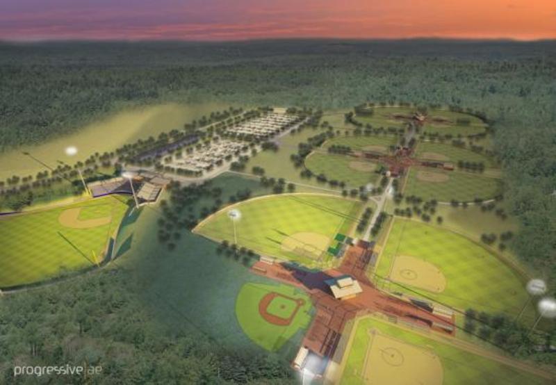 Art Van Sports Complex plans
