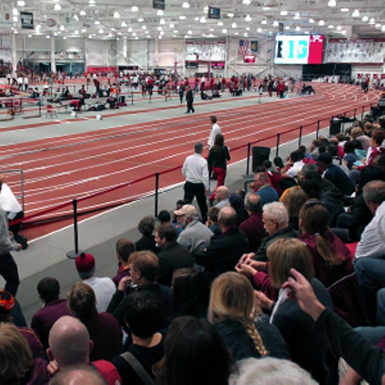 Bob Devaney Sports Center indoor track and field facility