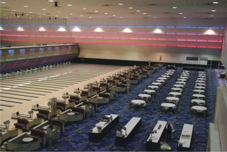 National Bowling Stadium 78 lanes area