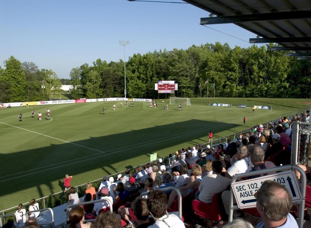 Bryan Park Soccer McPherson Stadium