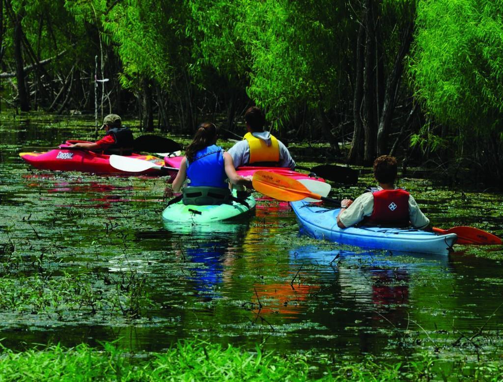 LLELA kayaking