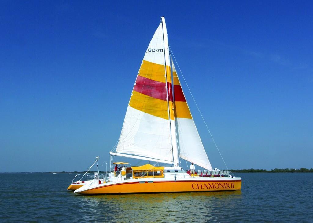 Lewisville Lake sailing