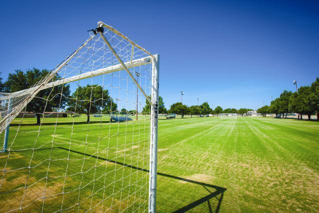 Toyota Railroad Park soccer field