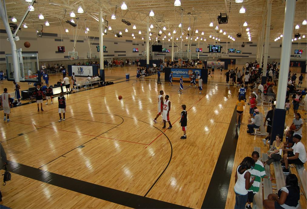 Fieldhouse USA courts
