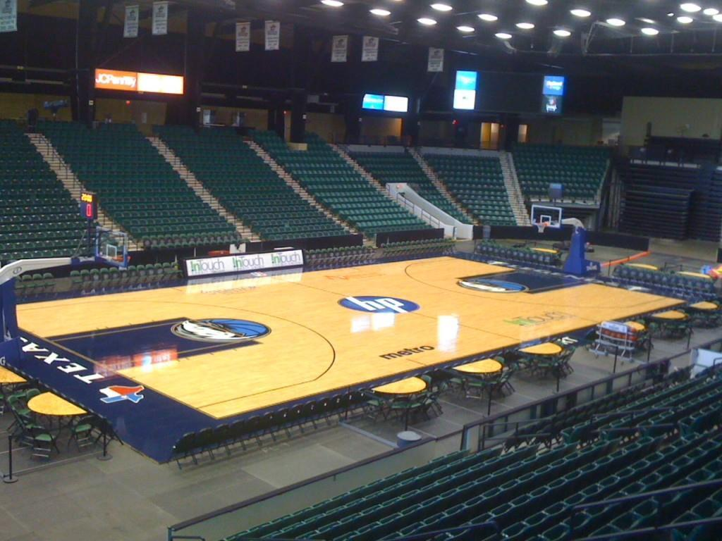 Dr. Pepper Areana, Texas Legends home court