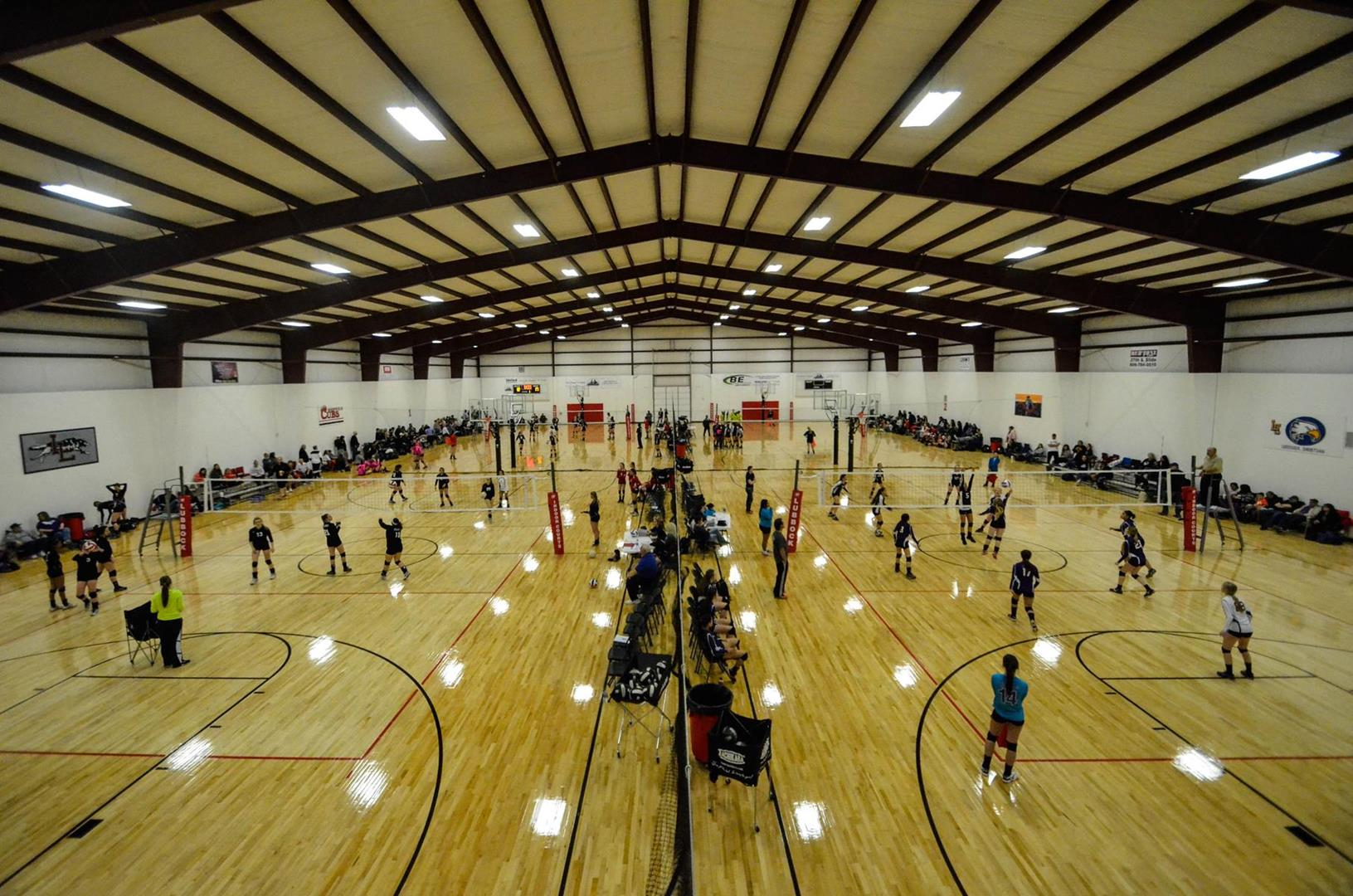 Lubbock top notch event facilities of west texas sports for Indoor sport court