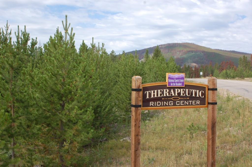 The Snow Mountain Ranch Therapeutic Riding Center provides an extensive sensory trail system in the beautiful Rocky Mountains. Credit: Snow Mountain Ranch