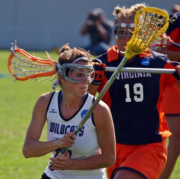 http://en.wikipedia.org/wiki/Lacrosse#mediaviewer/File:2005_NCAA_Women%27s_Lacrosse_Championship_-_Virginia_Cavaliers_vs_Northwestern_Wildcats.jpg