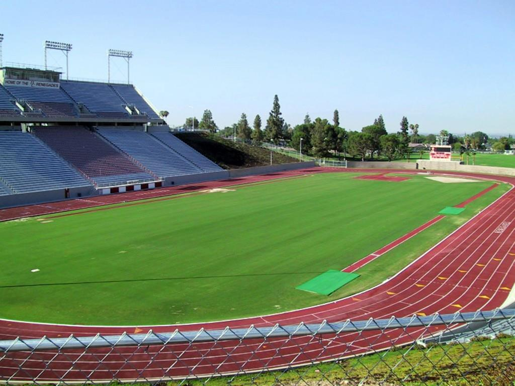 Bakersfield College Memorial Stadium. Credit: Bakersfield CVB