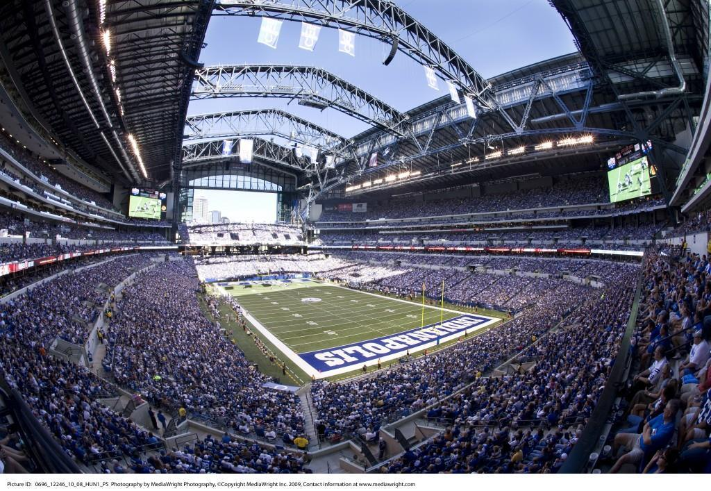 Lucas Oil Stadium. Photo courtesy MediaWright Photography