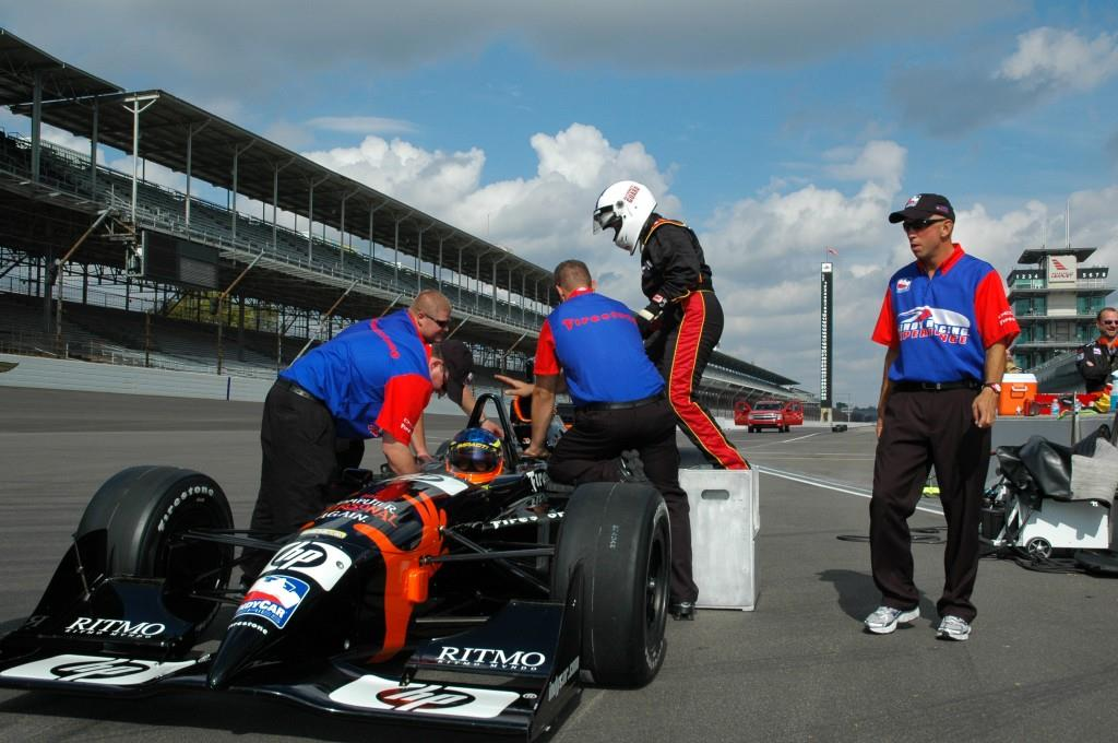 Indy Racing Experience. Photo courtesy of VisitIndy