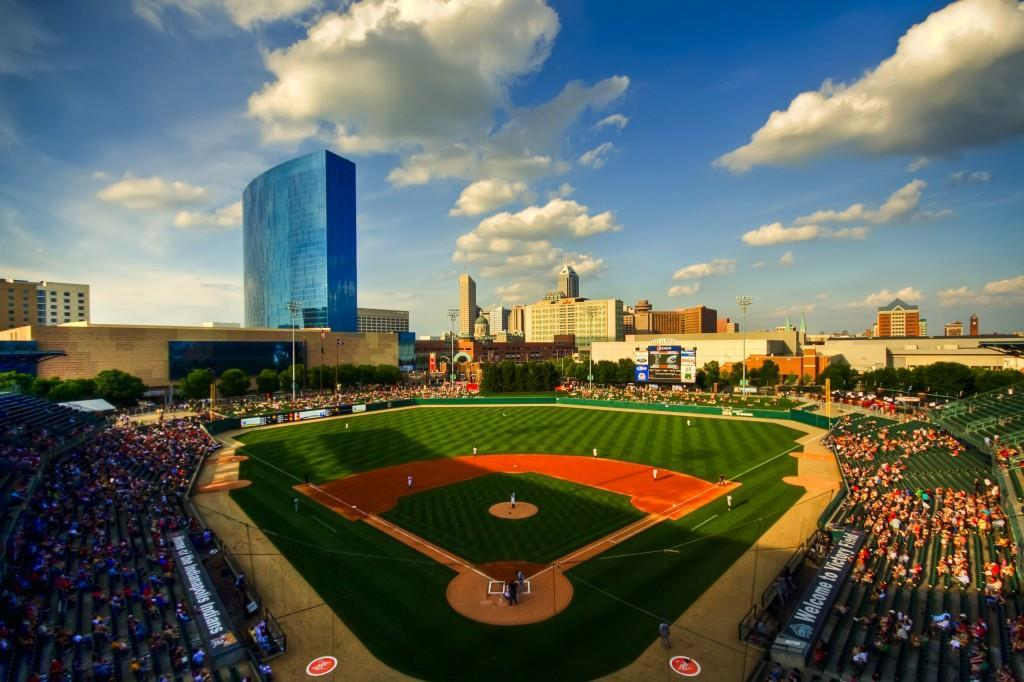 Victory Field Skyline with in background. Photo courtesy of Carl Van Rooy Photography