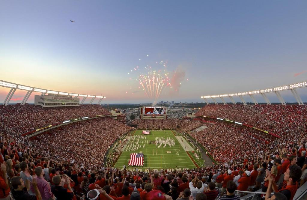 William Brice Stadium. Credit. Brett Flashnick for the Columbia CVB