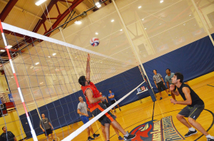 UML Campus Rec Center, Volleyball Set Up