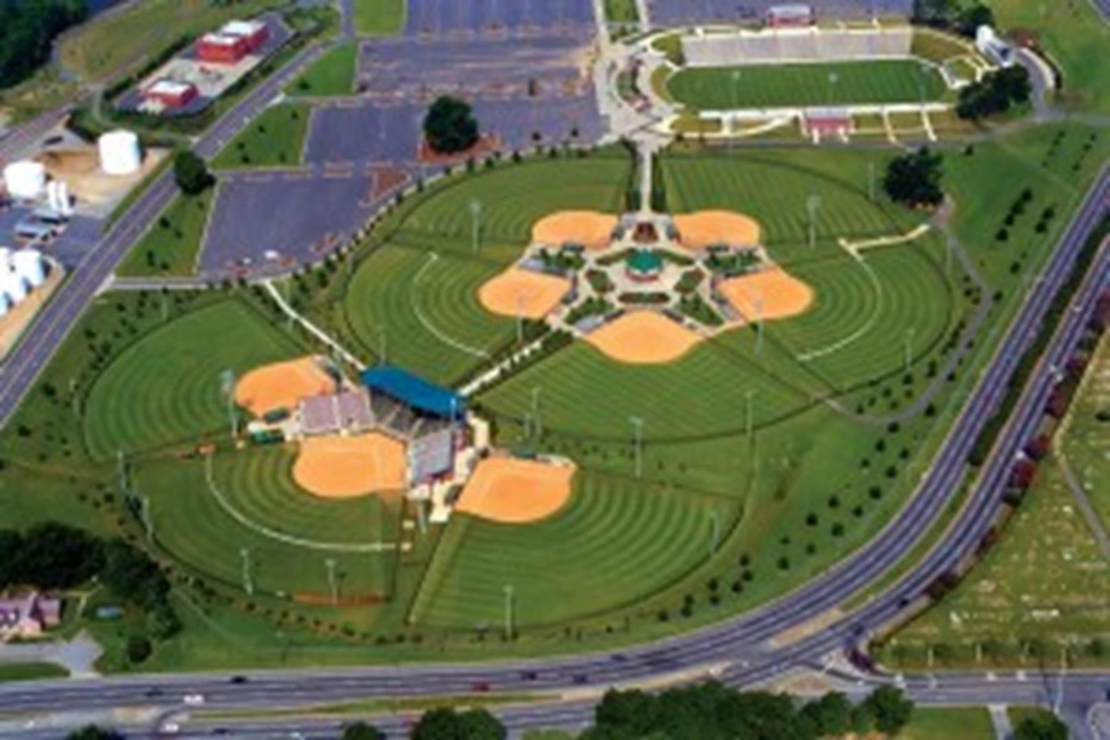Columbus GA South Commons Softball Complex