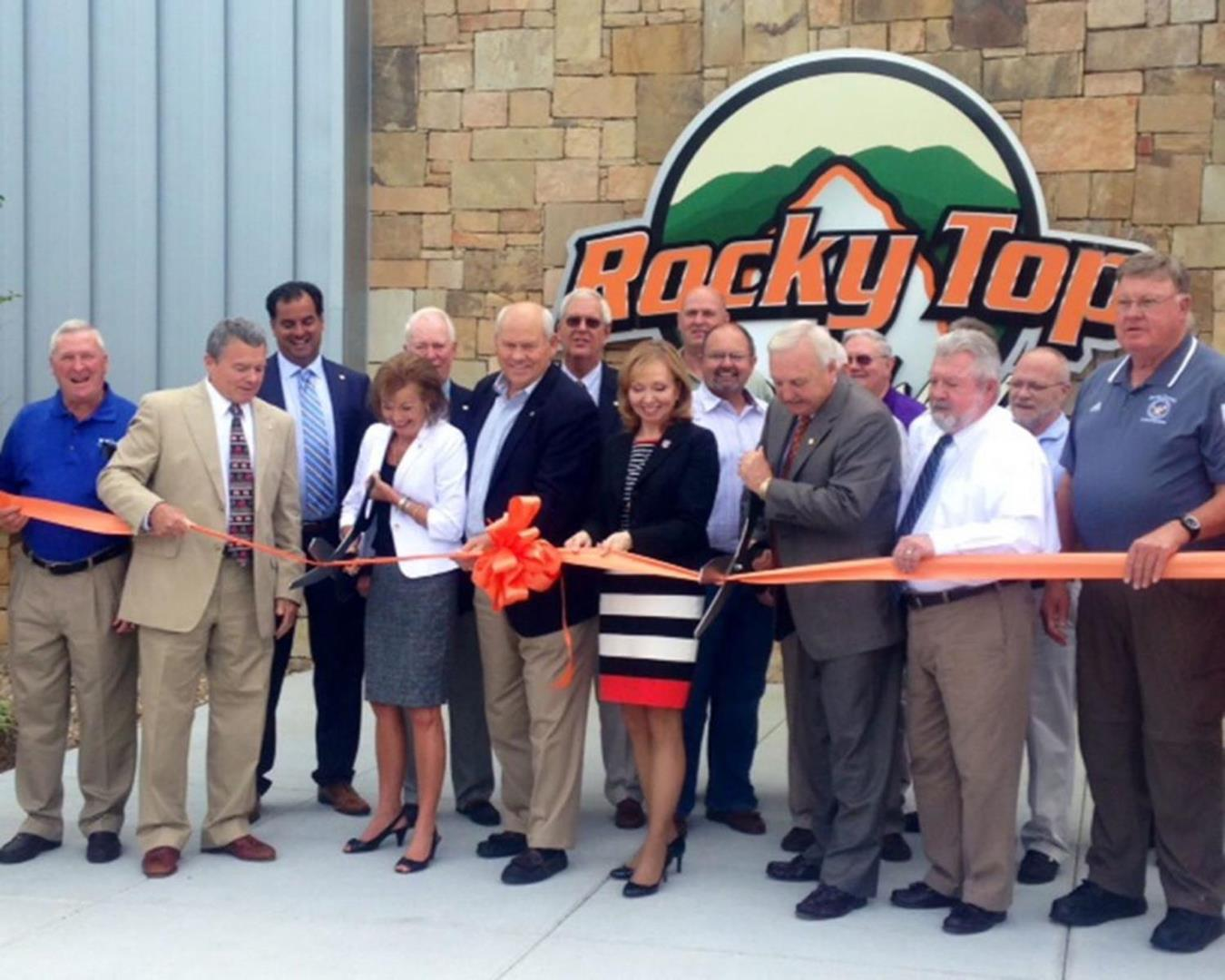 Grand Opening Rocky Top Sports World, Gatlinburg, Tennessee
