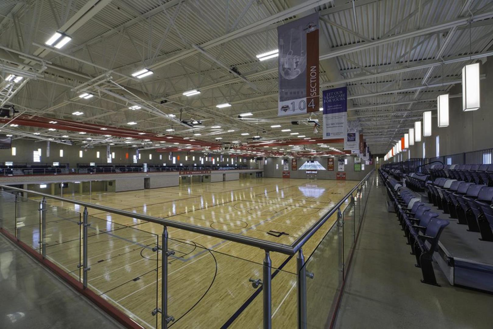 Round Rock Sports Center Interior