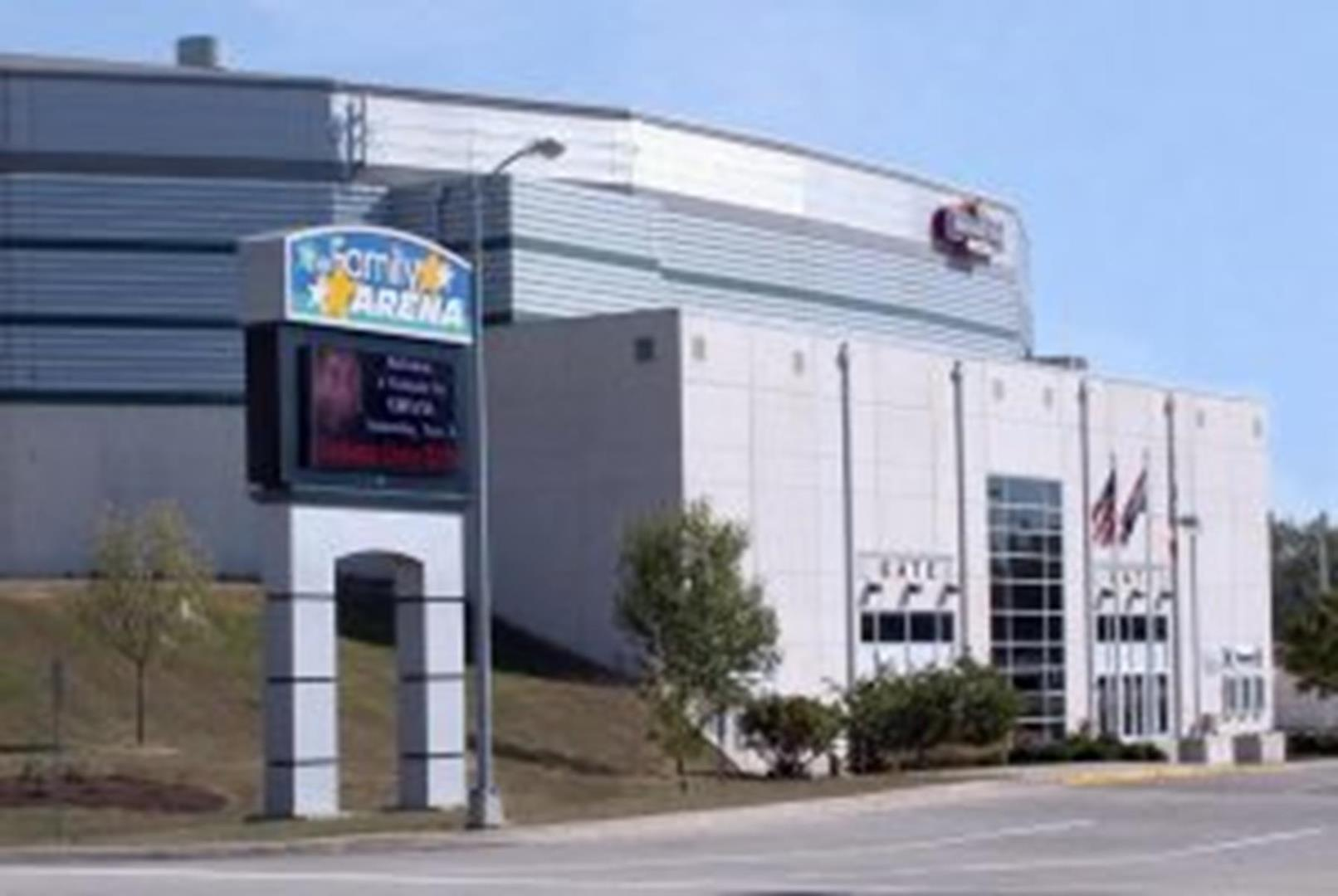 Family Arena hosts everything from hockey and basketball games to concerts.