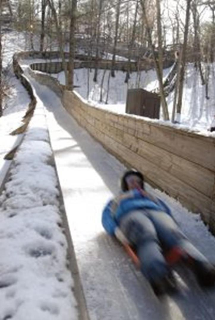 Luge at winter sports complex