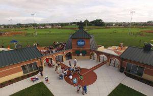 Deaconess Sports Park Front Entry Dusk Small