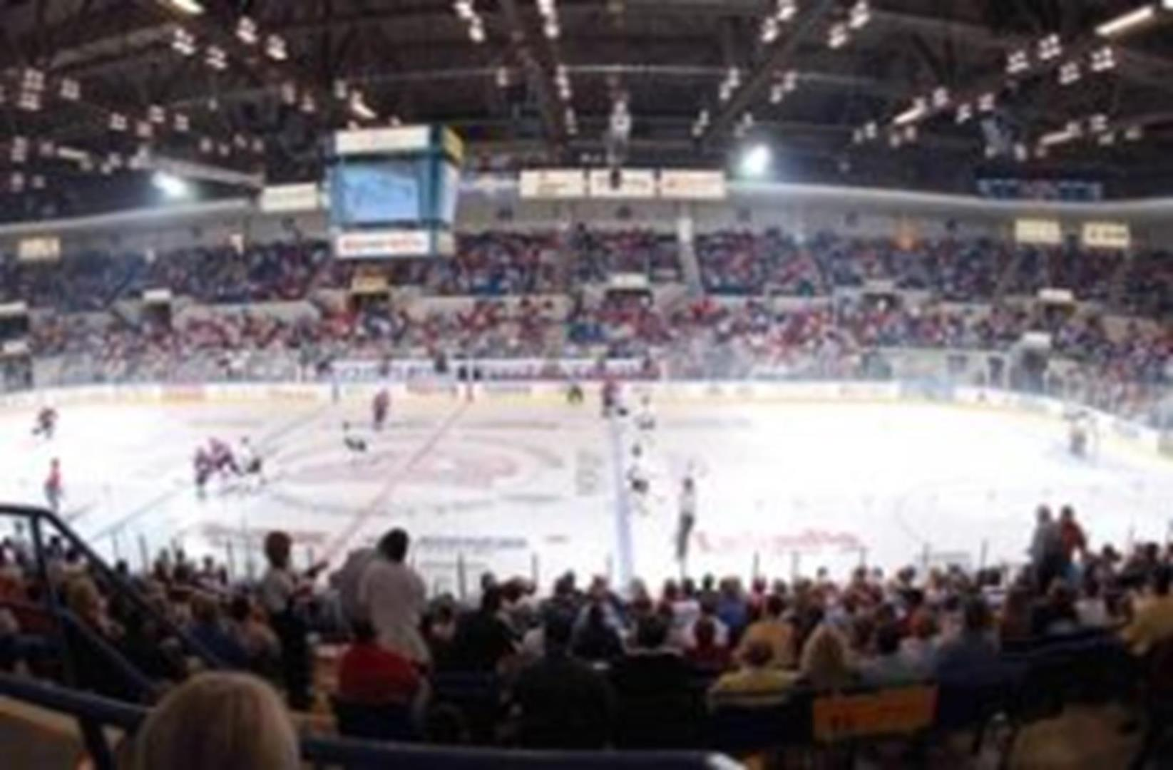 Dow Event Center - Hockey 1