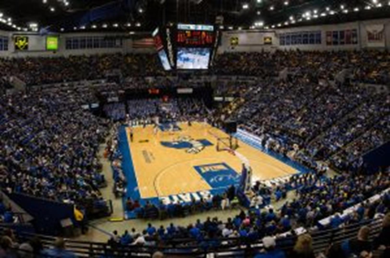 ISU falls to #4 Wichita State at Hulman Center in mens basketball action