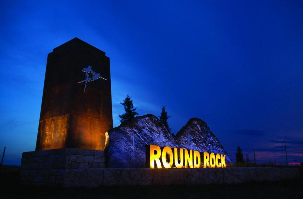 Round Rock Sign