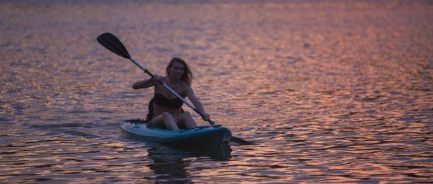 Gaston rowing