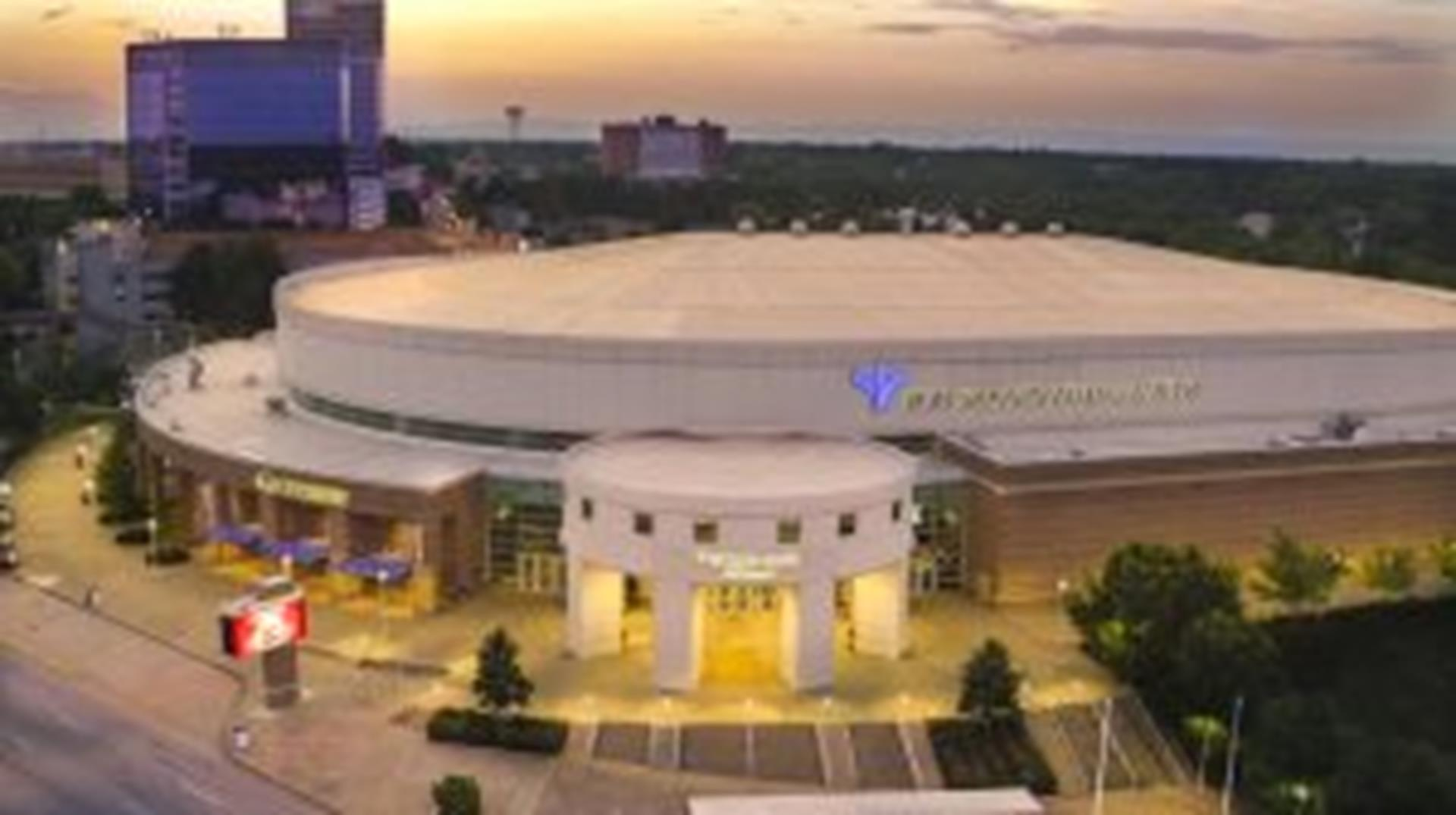 Bon Secours Wellness Arena Exterior