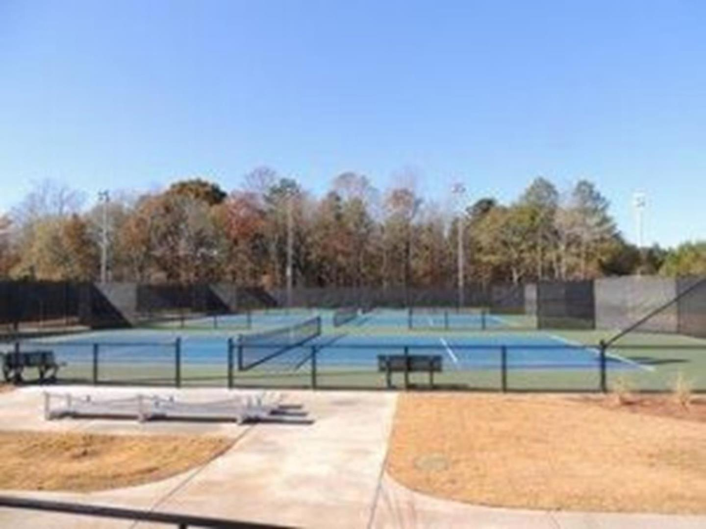 Clarke county tennis center