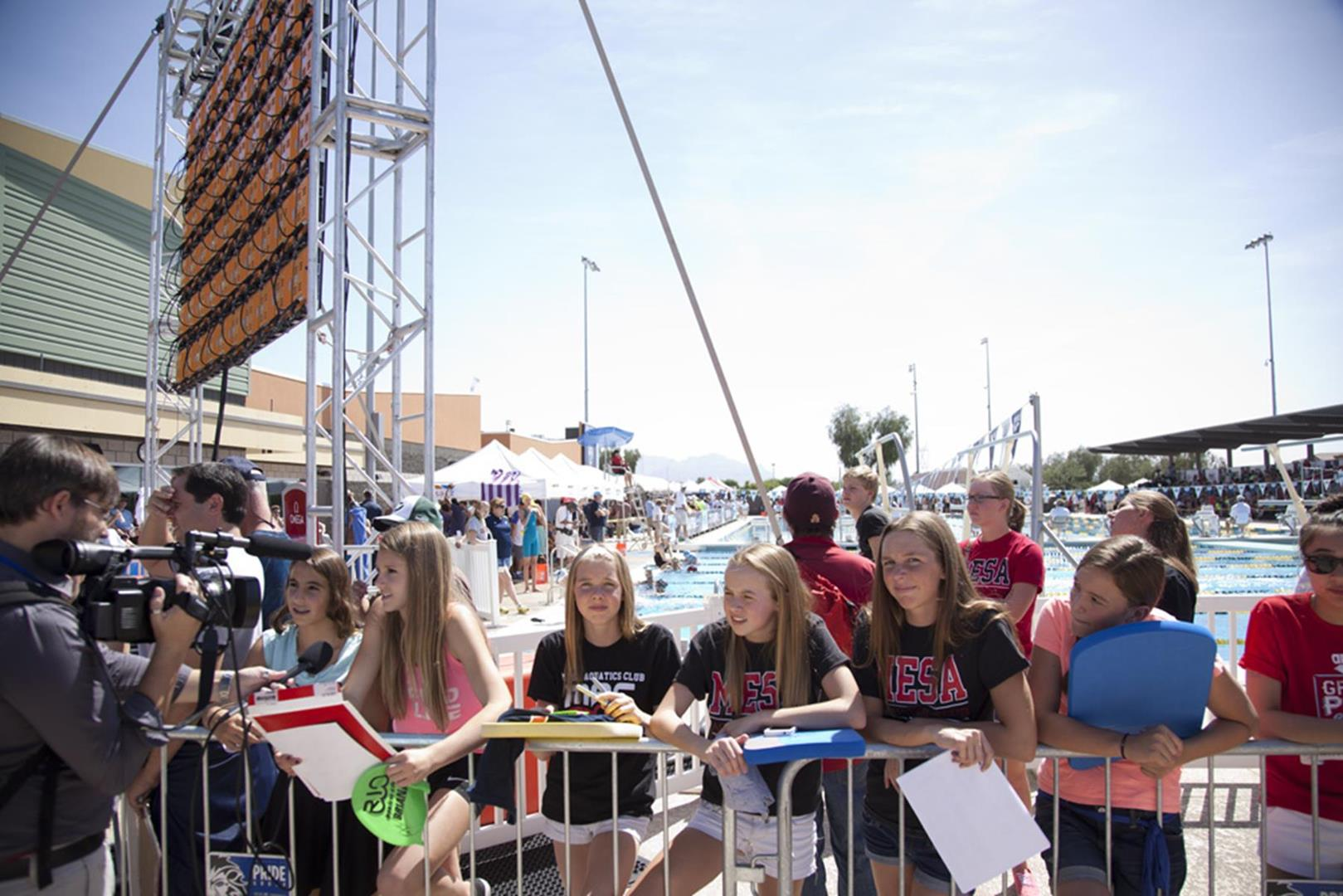 Fans at Grand Prix credit Visit Mesa