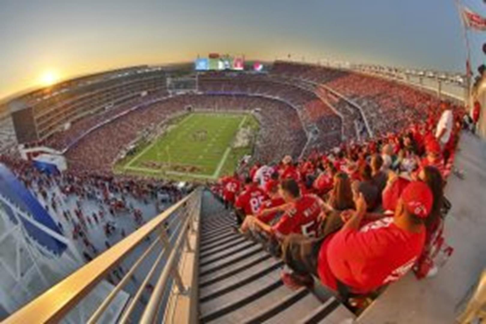 Levi's Stadium SANTA CLARA NEW - cool view