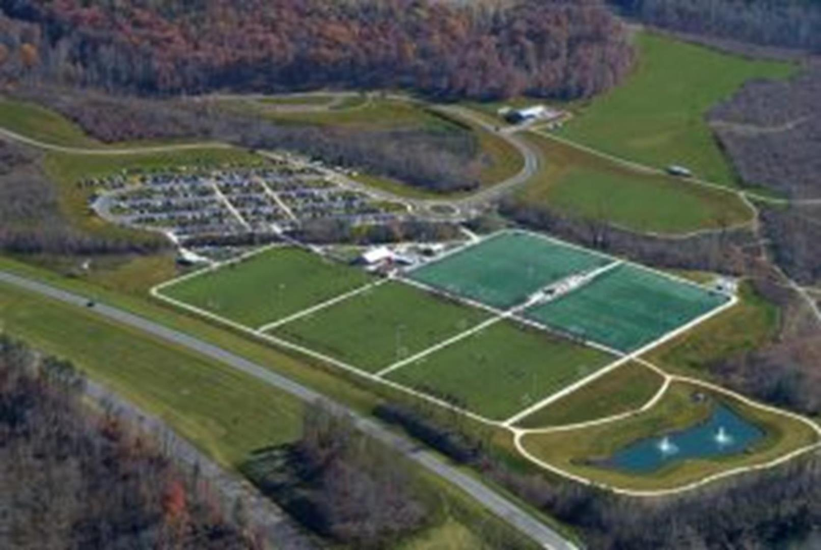 Smith River Sports Complex aerial view