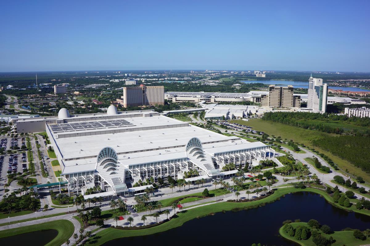 Orlando Convention Center Aerial - Creativehobby.store •
