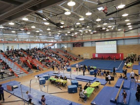 Everett Community College - a Popular Venue for Gymnastics Meets