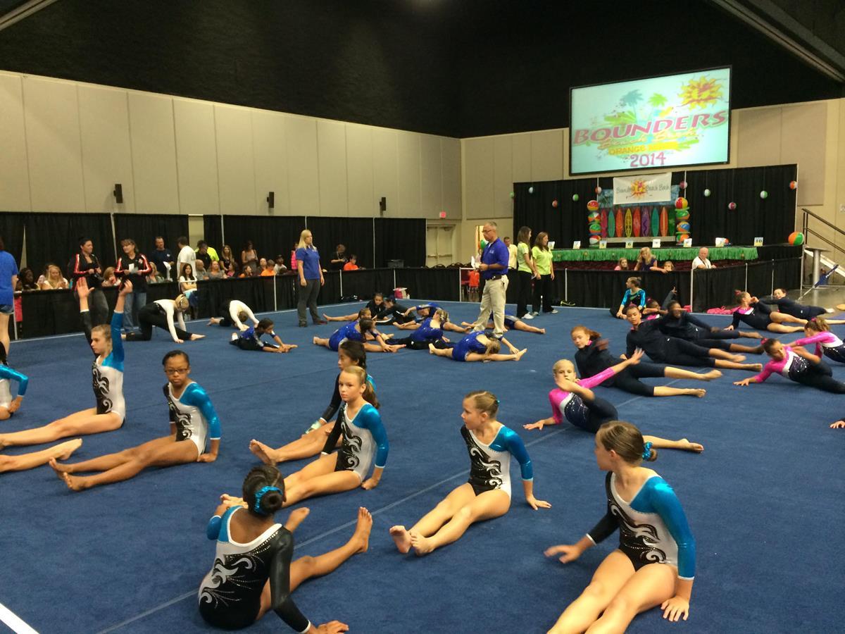 Foley Event Center Welcomes Gymnastics Meet