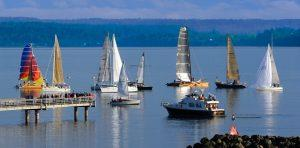 Sail boats in Seattle