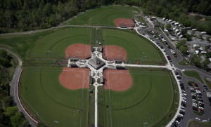 Wear Farm City Park Aerial Image