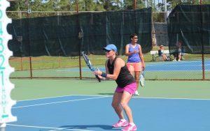 Althea Gibson Tennis Complex Woman Serving