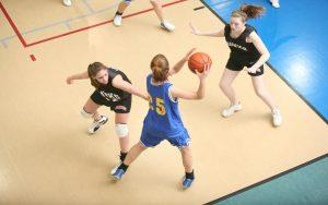 Libertyville Sports Complex Basketball Girls in Action