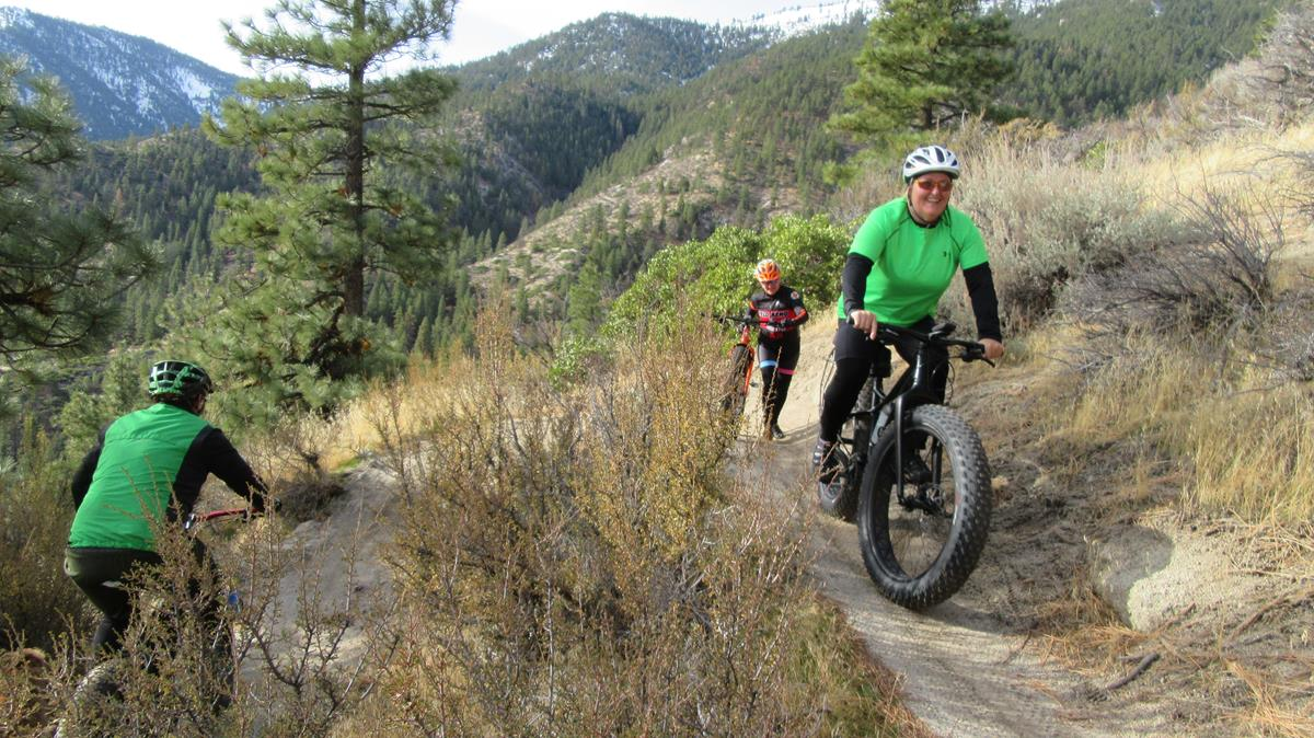 Fat Bikes Keep Cyclists Riding When Temperatures Plunge