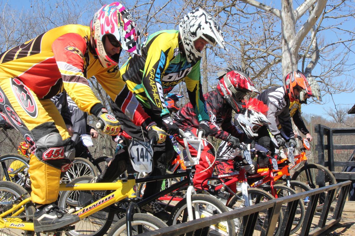 BMX Racers Compete in Pottstown, Pennsylvania