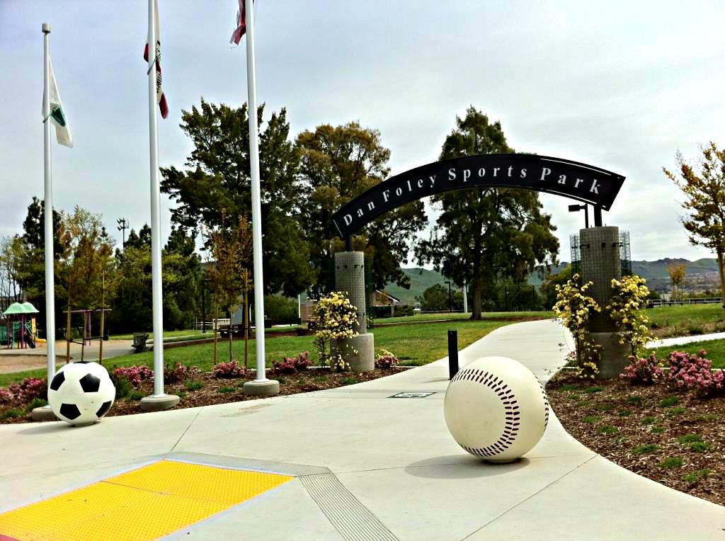 Dan Foley Sports Park Entrance