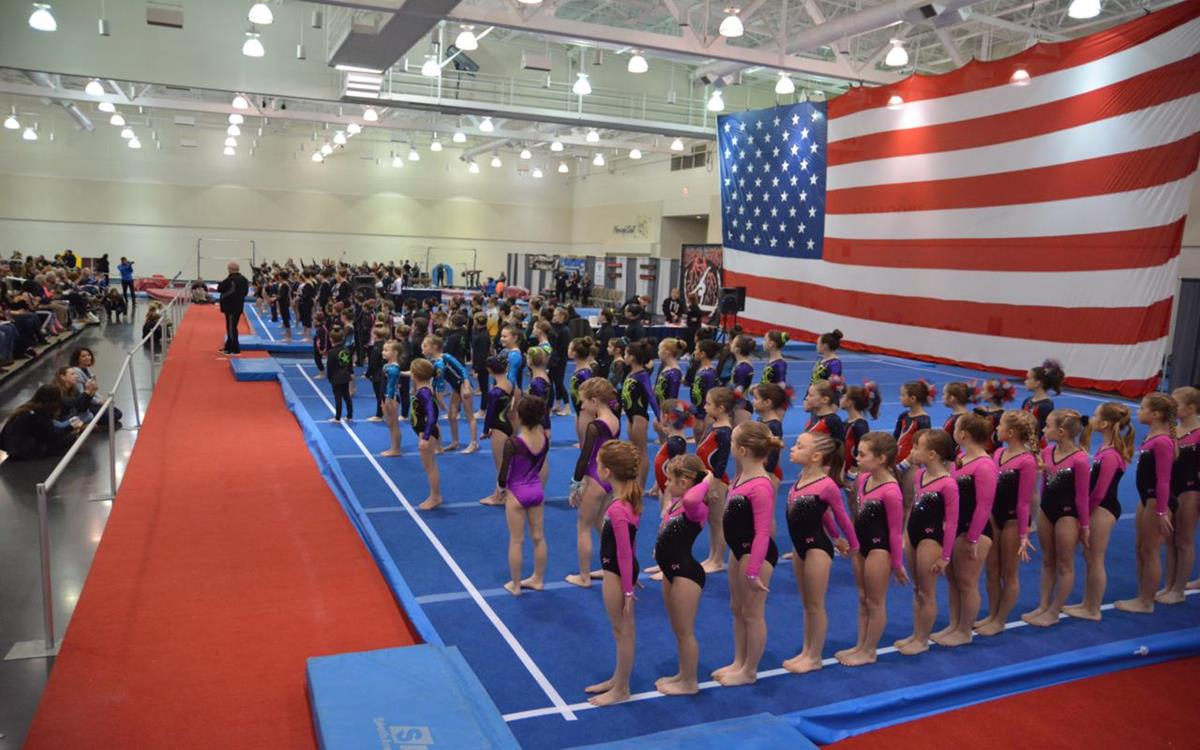Gymnastics at Bayfront Convention Center