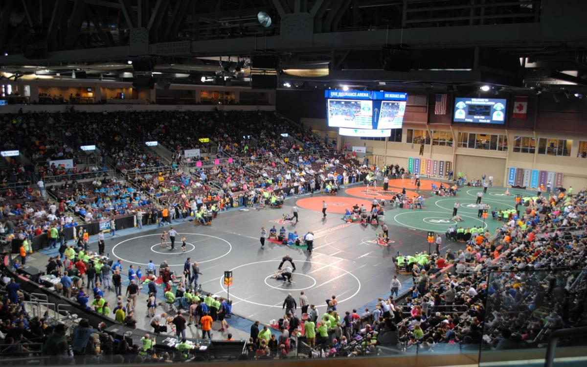 PA Junior Wrestling Tournament at Erie Insurance Arena_1280x800
