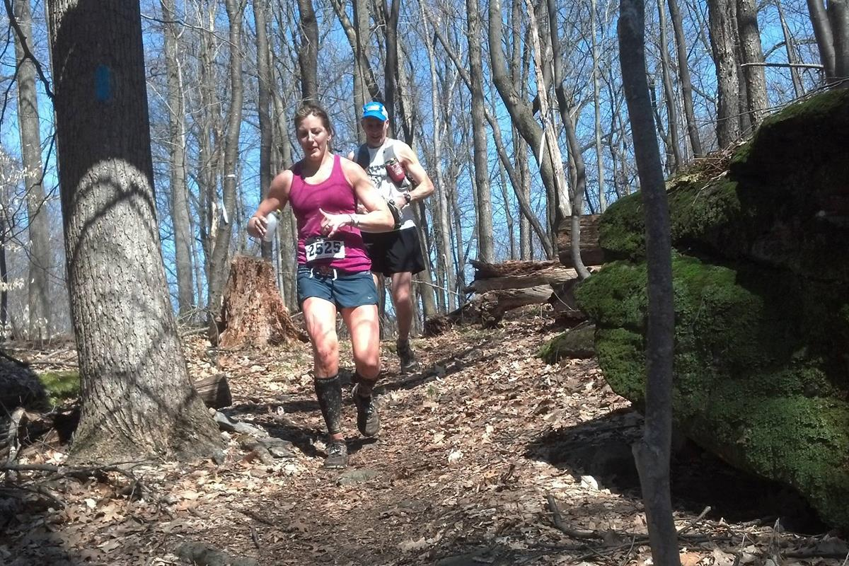 Glacier Ridge Ultramarathon by Dave Adams at Moraine State Park