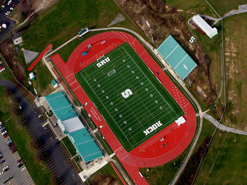 SRU_Mihalik Thompson Stadium_aerial