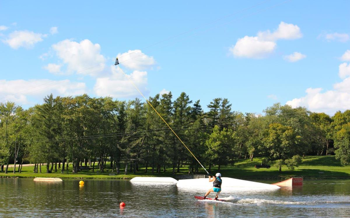 West Rock Wake Park at Levings Lake