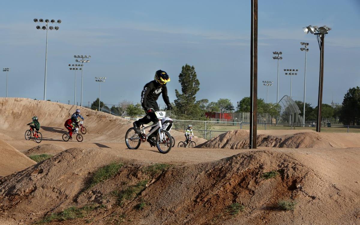 West Texas BMX Track at Reyes Mashburn Nelms Park